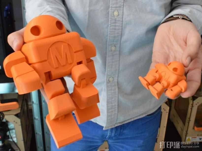 M型机器人 3D模型  图3