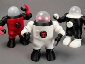 小屋机器人 3D模型