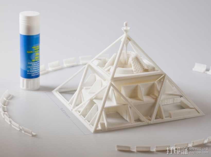 火星金字塔 3D模型  图2