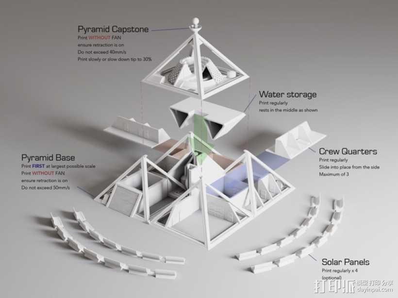 火星金字塔 3D模型  图8