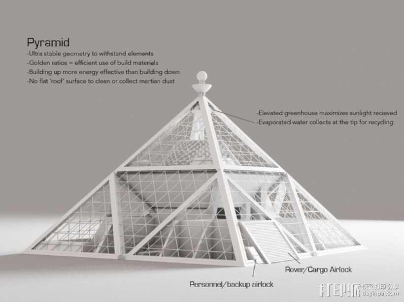 火星金字塔 3D模型  图9