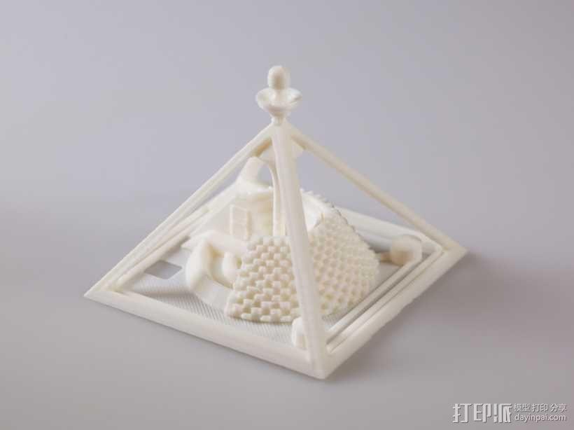 火星金字塔 3D模型  图10