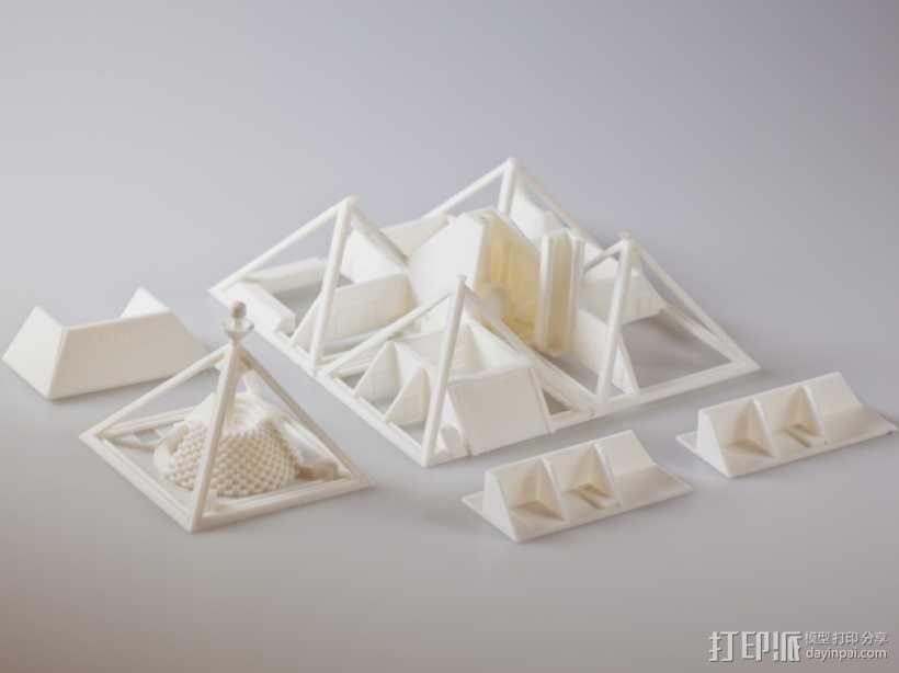 火星金字塔 3D模型  图11