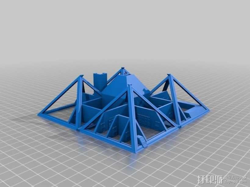 火星金字塔 3D模型  图15