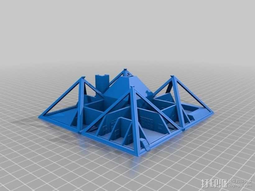 火星金字塔 3D模型  图16