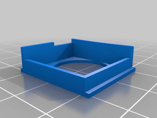 超声波声纳模块 3D模型  图2
