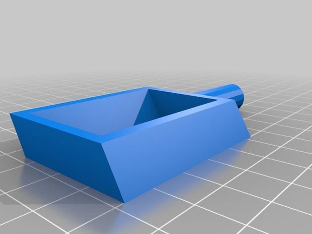 旋转搅拌叶片 3D模型  图3