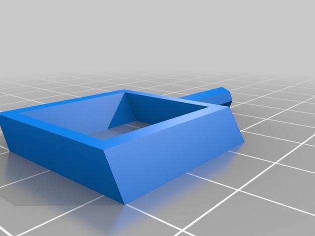 旋转搅拌叶片 3D模型  图4