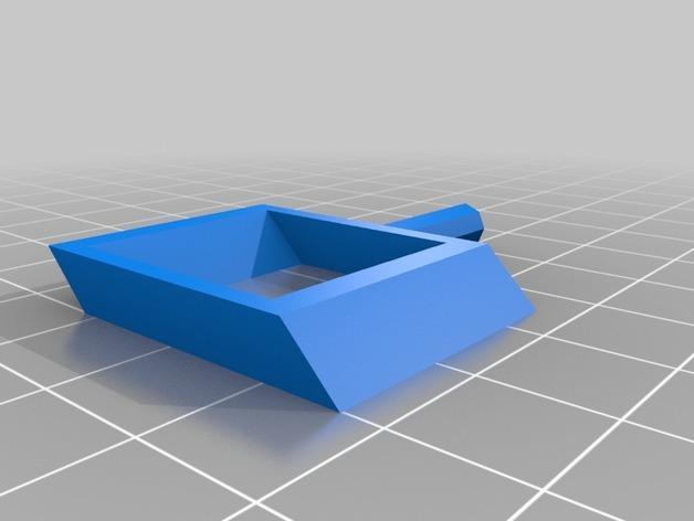 旋转搅拌叶片 3D模型  图5