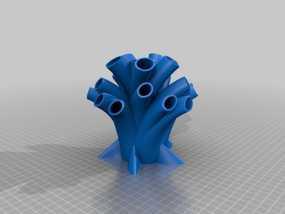 笔筒 家居摆件 3D模型