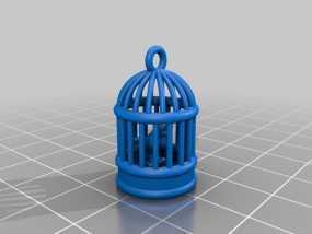 鸟笼 3D模型