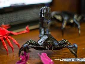红色蝎子 3D打印制作