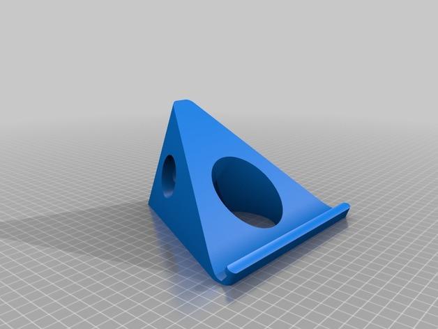 MacBook Pro展示架 3D模型  图1