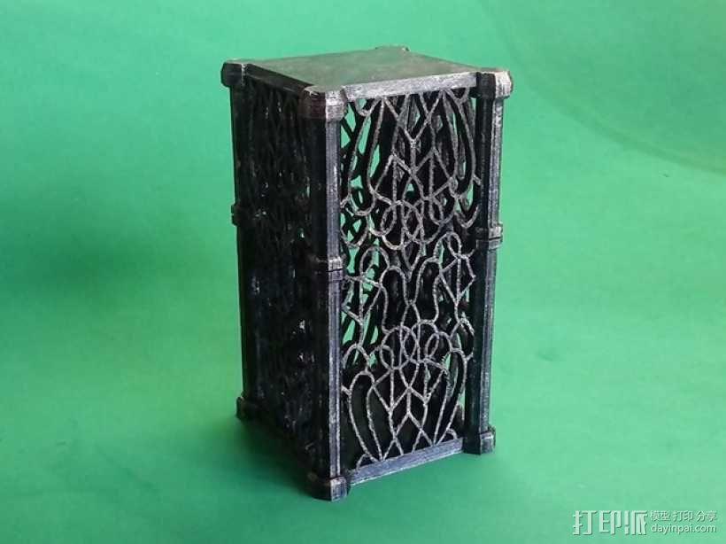 装饰盒 笔架 笔筒 3D模型  图3