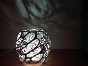 鸟巢灯罩 3D模型