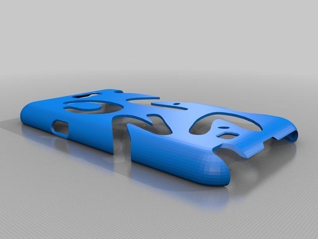 Galaxy Note 2 外壳 3D模型  图1