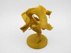 锦鲤 3D打印制作