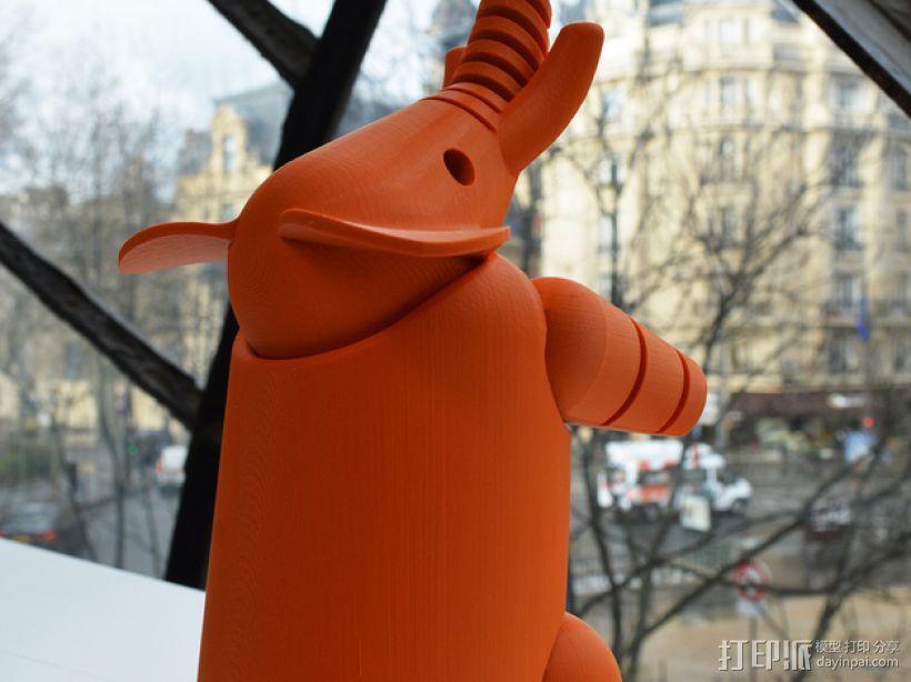 大象 3D模型  图2