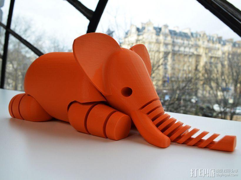 大象 3D模型  图3