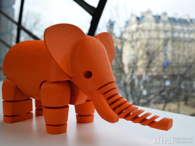 大象 3D模型  图4