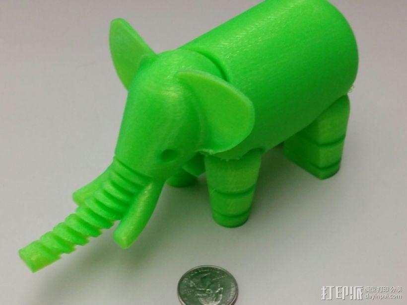 大象 3D打印制作  图3