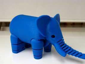 大象 3D打印制作