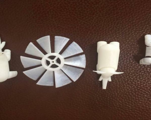 白色大象 3D打印制作  图4
