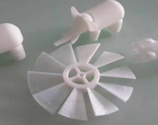 白色大象 3D打印制作  图2