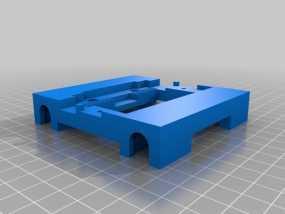 flashforge 梦想家 X轴 支架 3D模型