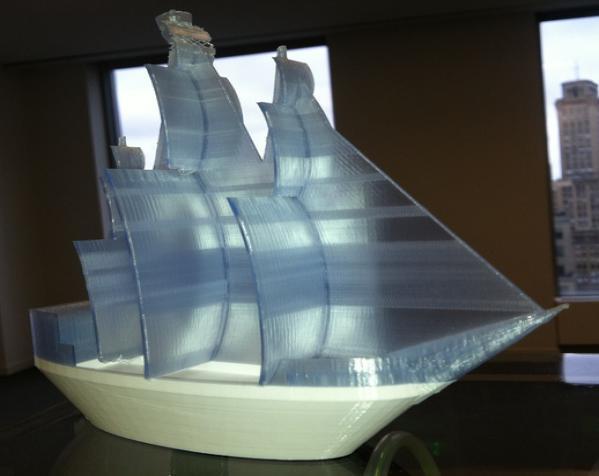 海盗船 3D打印制作  图1