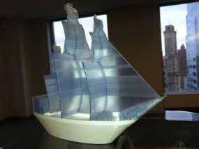 海盗船 3D打印制作
