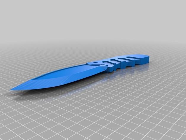 生存刀 3D模型  图1