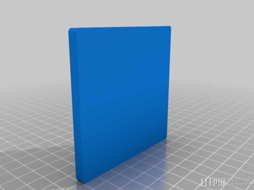 益智玩具 七巧板 3D模型  图1