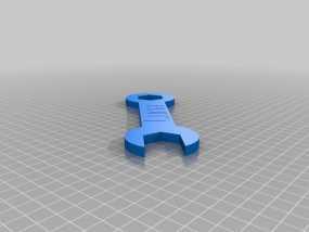 迷你版 扳手 3D模型