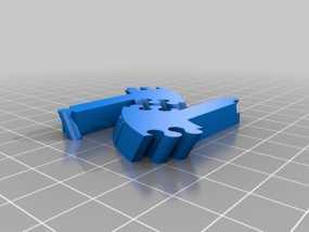 生物学 DNA螺旋 3D模型