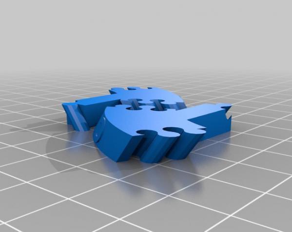 生物学 DNA螺旋 3D模型  图2