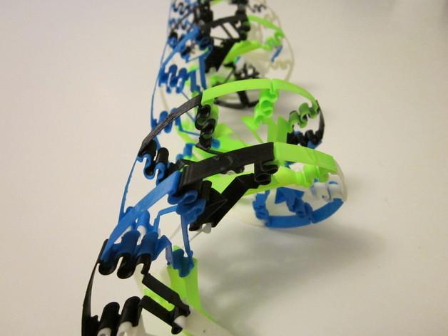 生物学 DNA螺旋 3D模型  图5