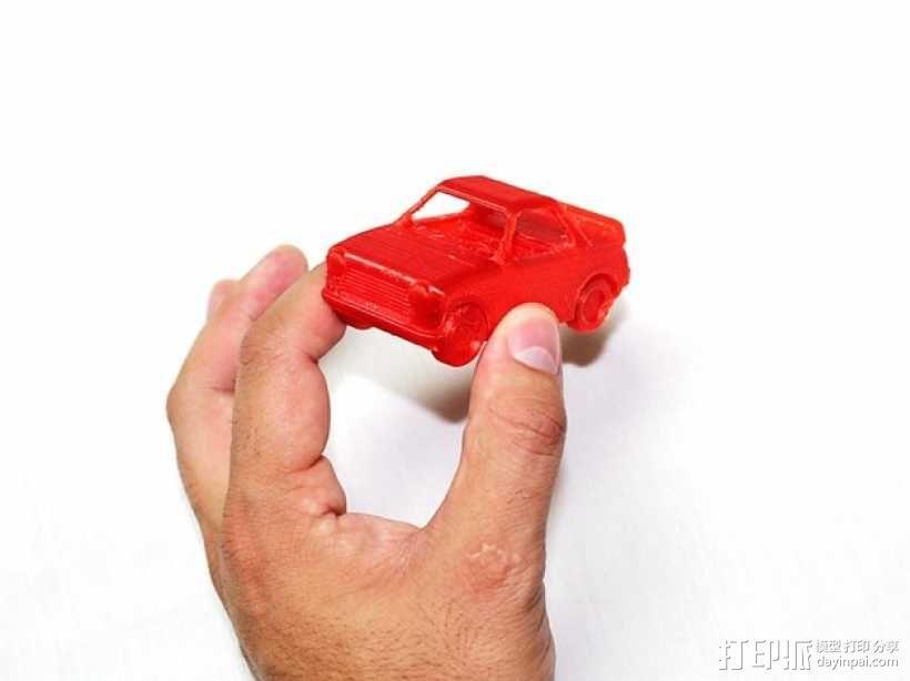 玩具运动跑车 3D模型  图1