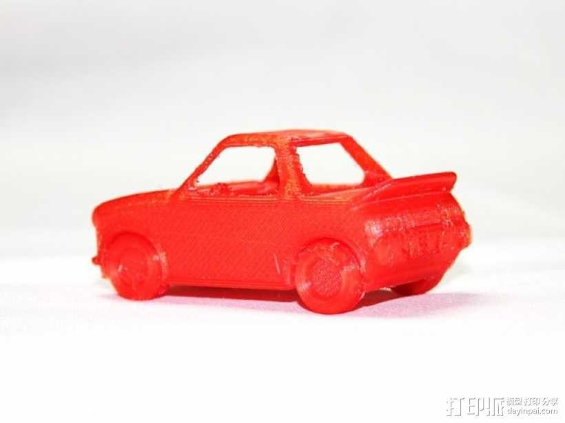 玩具运动跑车 3D模型  图2