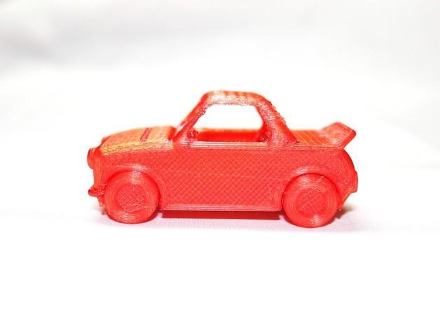 玩具运动跑车 3D模型  图3