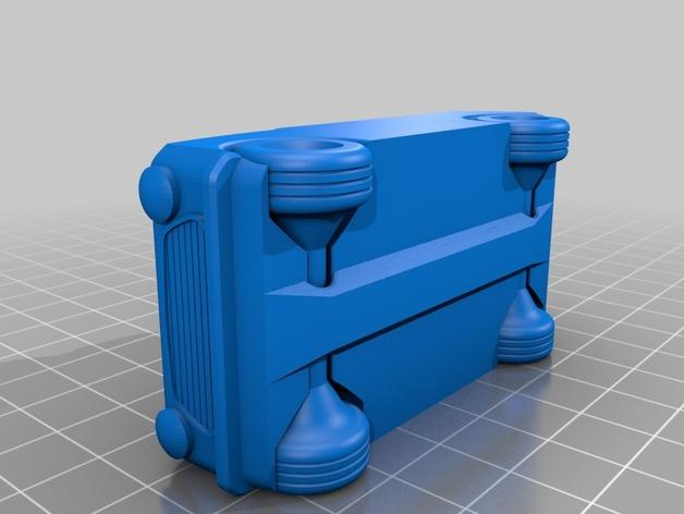 玩具运动跑车 3D模型  图4