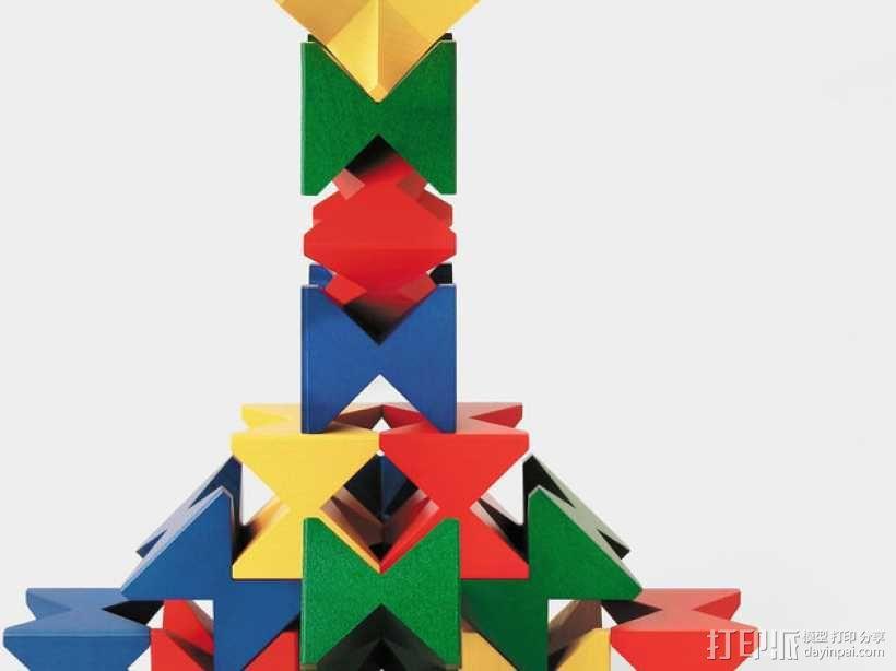 玩堆积木 3D模型  图3