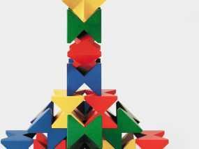 玩堆积木 3D模型