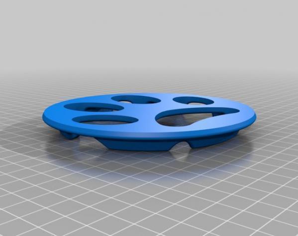猫咪慢食器 3D模型  图2