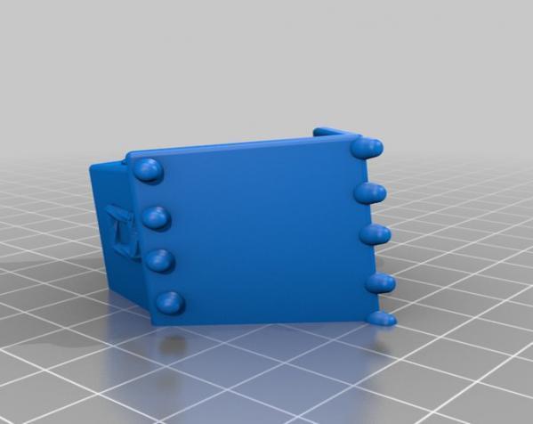 姜饼屋 3D模型  图1