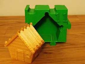 姜饼屋 3D模型