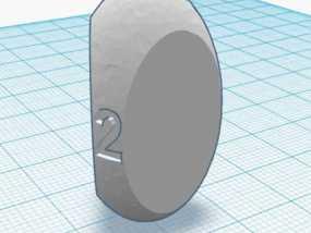 三面球形模型 3D模型