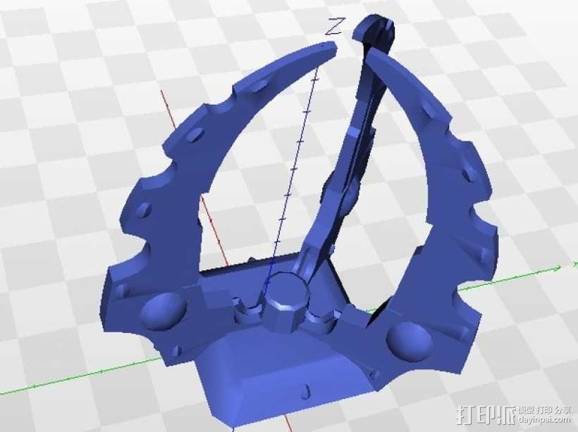 游戏《黎明战争》中的发电器 3D模型  图1