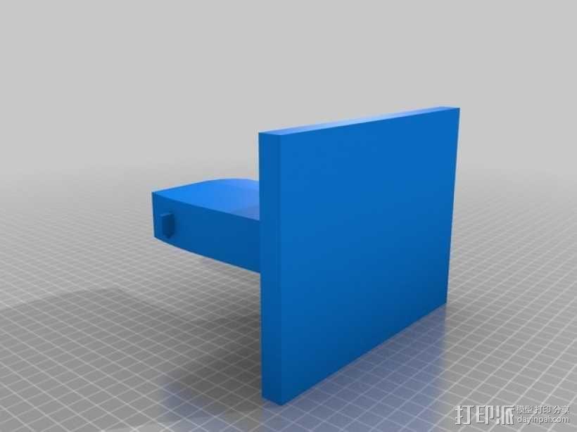 成列架模型 3D模型  图2