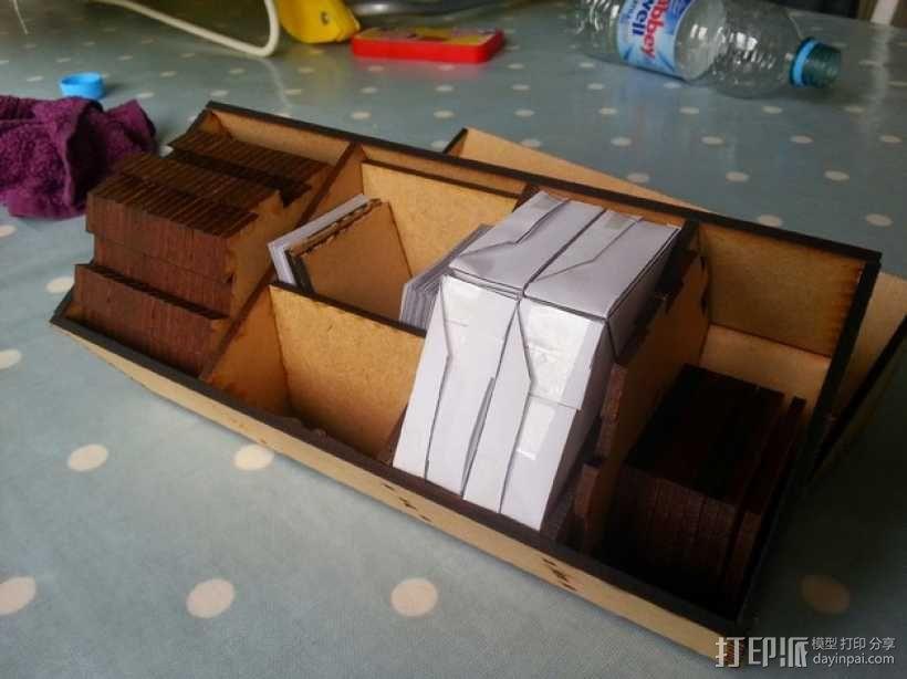 游戏《星球大战》收纳盒 3D模型  图1
